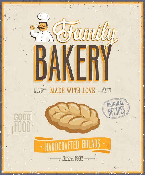 面包海报设计图片
