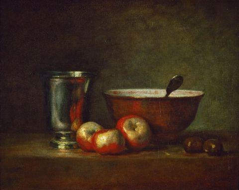 碗和水果图片