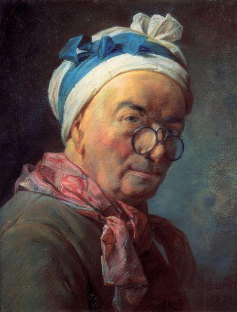 戴眼镜的欧洲男子图片