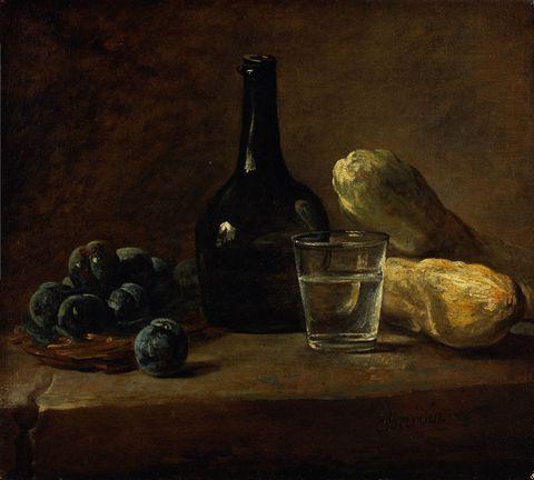 瓶子和食物图片