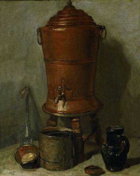 铁桶和瓶子图片
