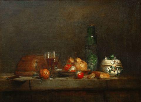 瓶子和水果图片