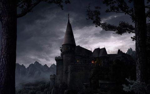 美丽古堡风景壁纸