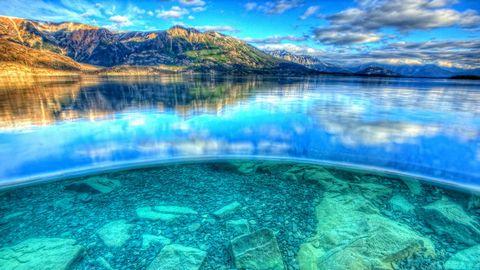 美丽湖泊风景壁纸