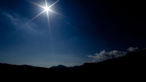 夜晚天空风景壁纸