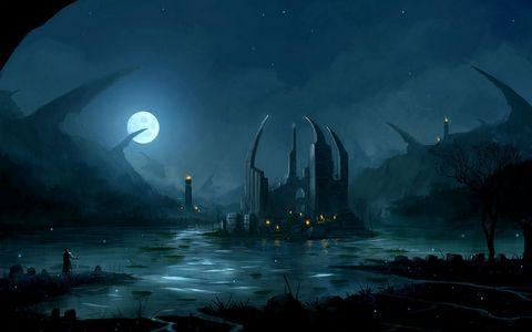 美丽夜晚风景壁纸