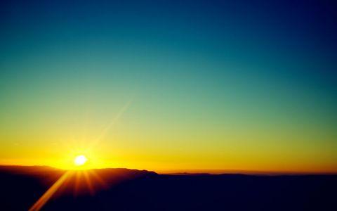 黄昏夕阳风景壁纸