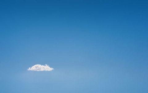 蓝天白云风景壁纸