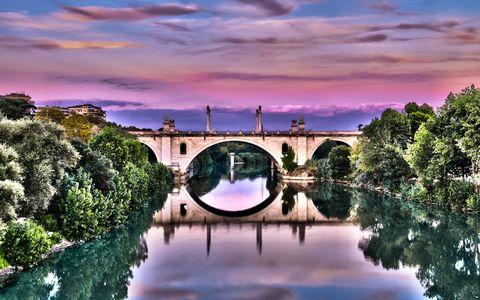 美丽小桥风景壁纸