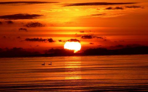 夕阳日落风景壁纸