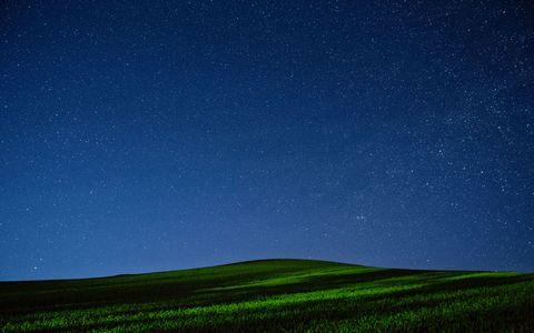 草原星空风景壁纸