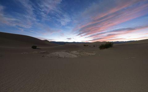 美丽沙漠风景壁纸