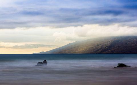 美丽海面风景壁纸