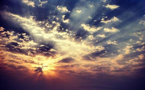 天空阳光风景壁纸