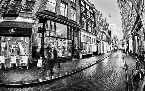 城市街道风景壁纸