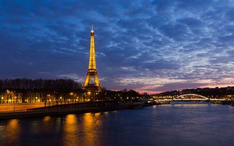 埃菲尔铁塔夜景壁纸