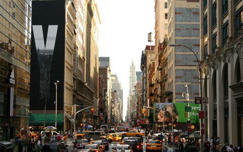 纽约街头风景壁纸
