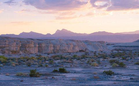 美丽荒漠岩石风景