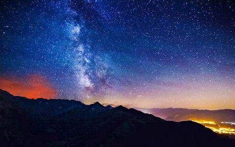 夜空繁星风景
