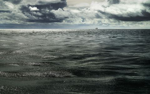 美丽海面风景