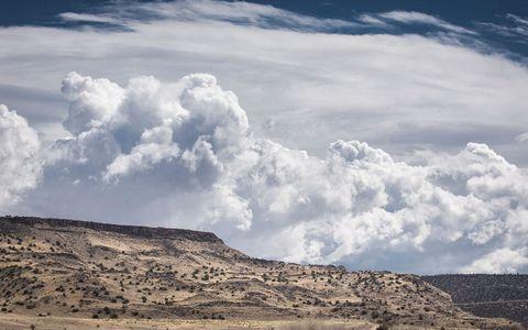 荒漠天空风景
