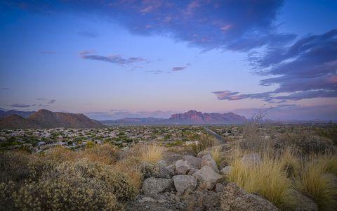 荒漠石头风景