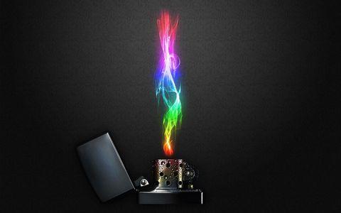 打火机火焰壁纸