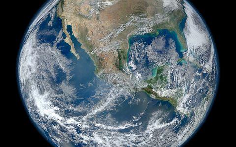 美丽地球表面