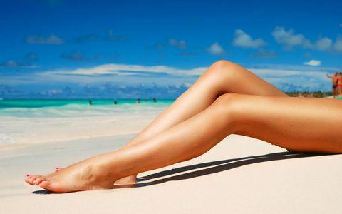 沙滩上的性感美女