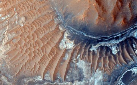 鸟瞰沙漠风景