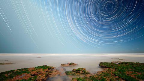 星空漩涡风景