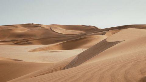 美丽沙丘风光