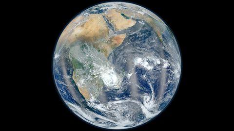 太空地球表面