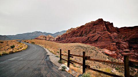 荒漠公路风景