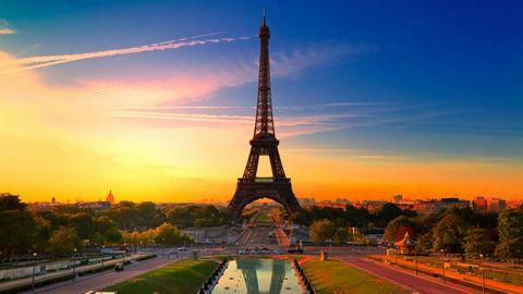 埃菲尔铁塔风景