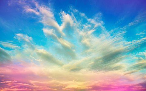 天空彩霞风景