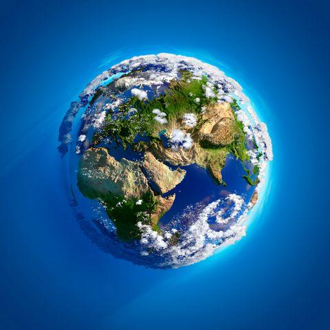 蓝色地球高清摄影图片