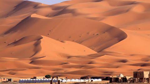 壮观的沙漠风景