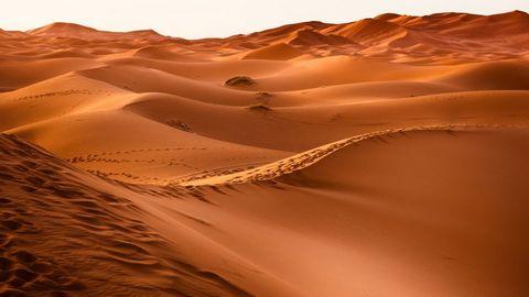 此起彼伏的沙漠摄影