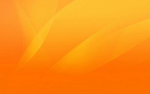 橙色梦幻背景