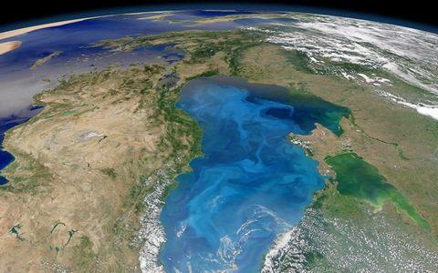 广阔的地球表面