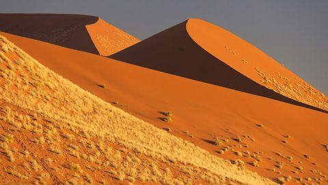奇特的沙漠地形