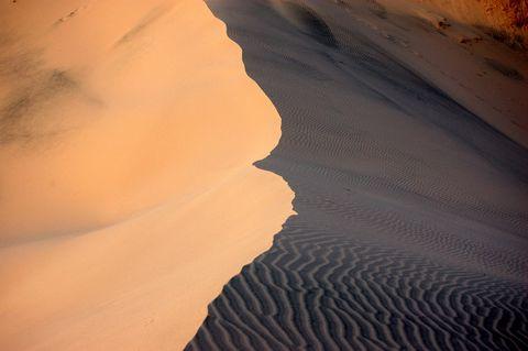 壮观的沙漠景色