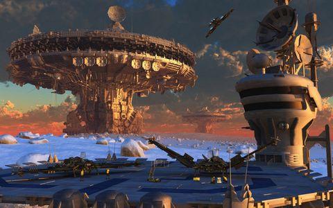 未来城市建筑