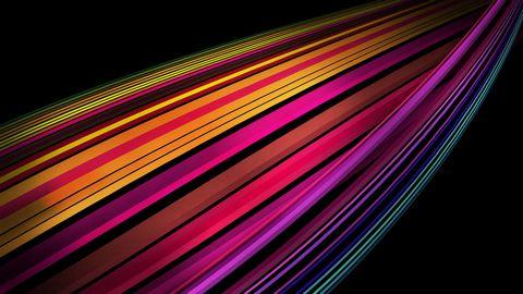 彩色线条条纹背景