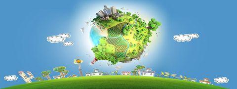 创意卡通地球高清图片图片图片