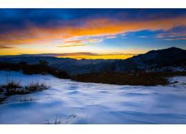 冬天雪景高清摄影图片